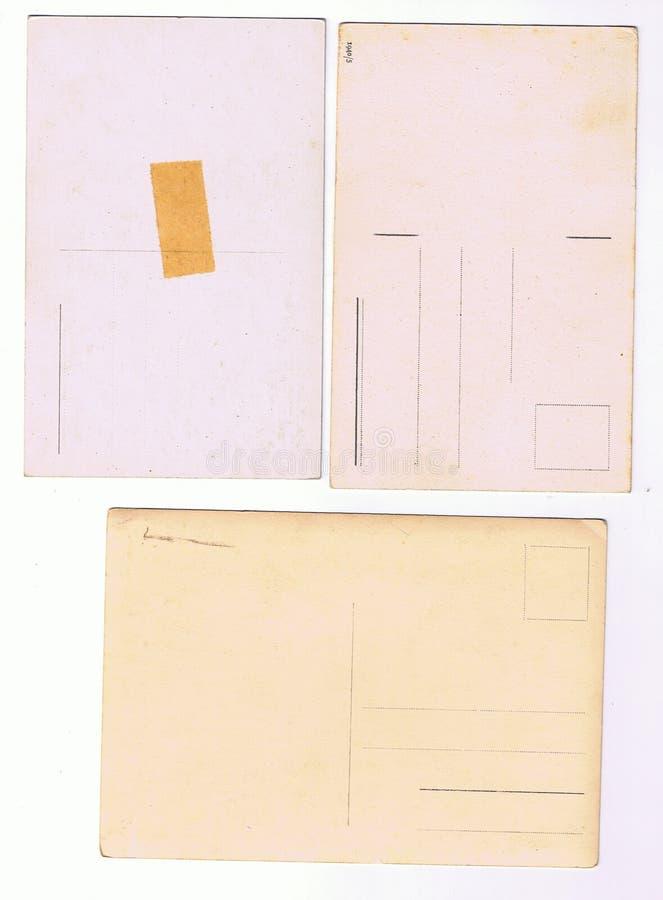 Retro parte della cartolina digitalmente scandetta illustrazione di stock