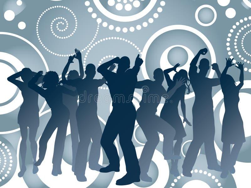 Retro party stock illustration