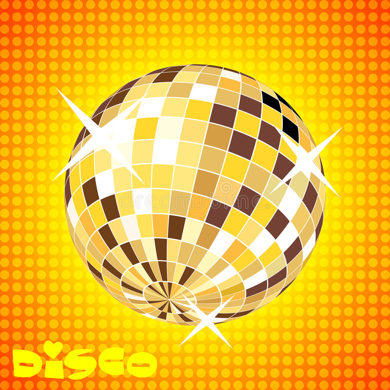 Retro Party Background Stock Images