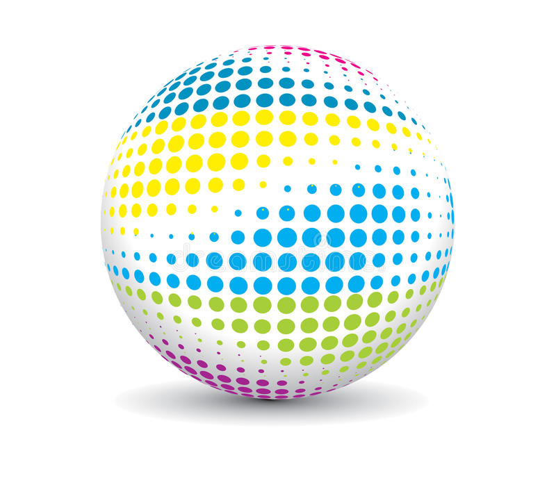 Download Retro Party Ball Royalty Free Stock Images - Image: 9854979