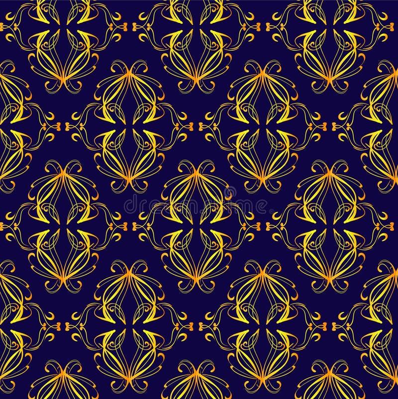 Retro patroon royalty-vrije illustratie