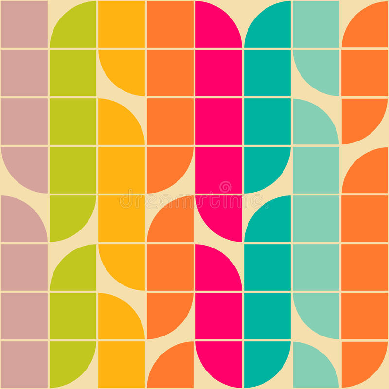 Retro pattern vector illustration