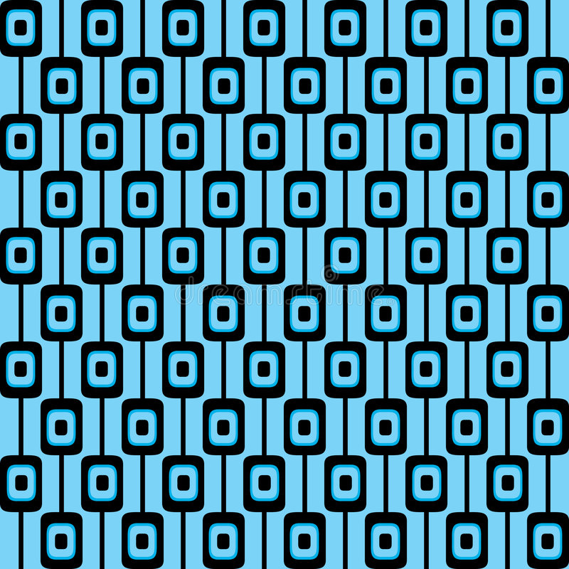 Retro pattern background stock illustration