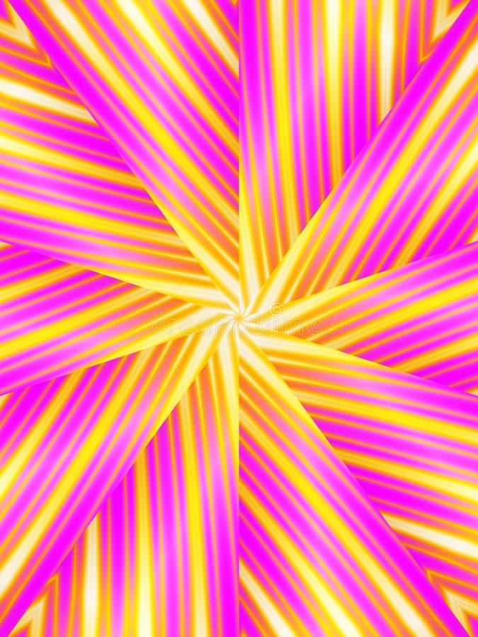 Free Retro Pattern Pink Stripes Royalty Free Stock Photos - 2246978