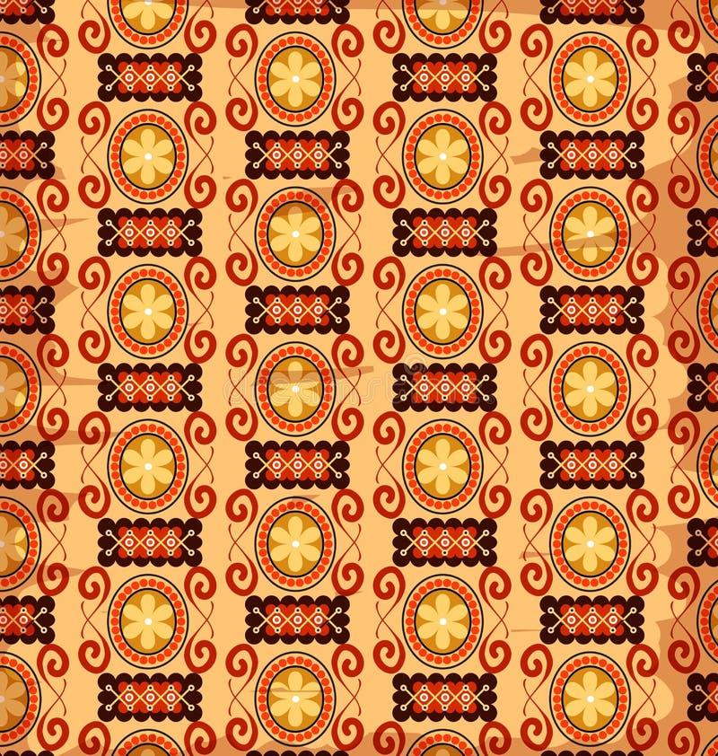 Retro patterns making royalty free illustration