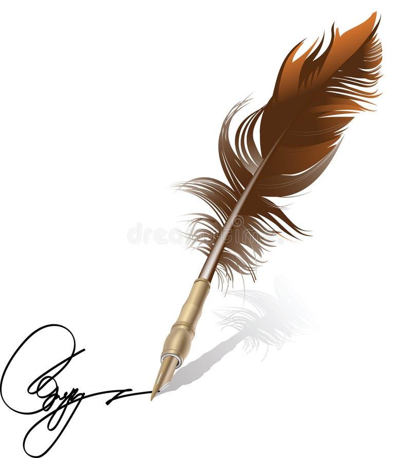 Free Retro Pen. Royalty Free Stock Images - 10983089