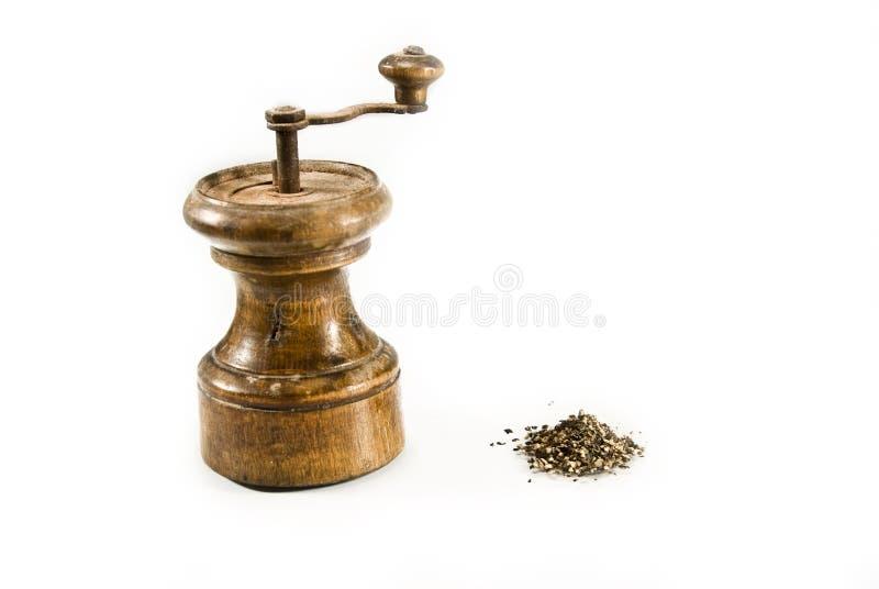 Retro Pepper-grinder stock photos