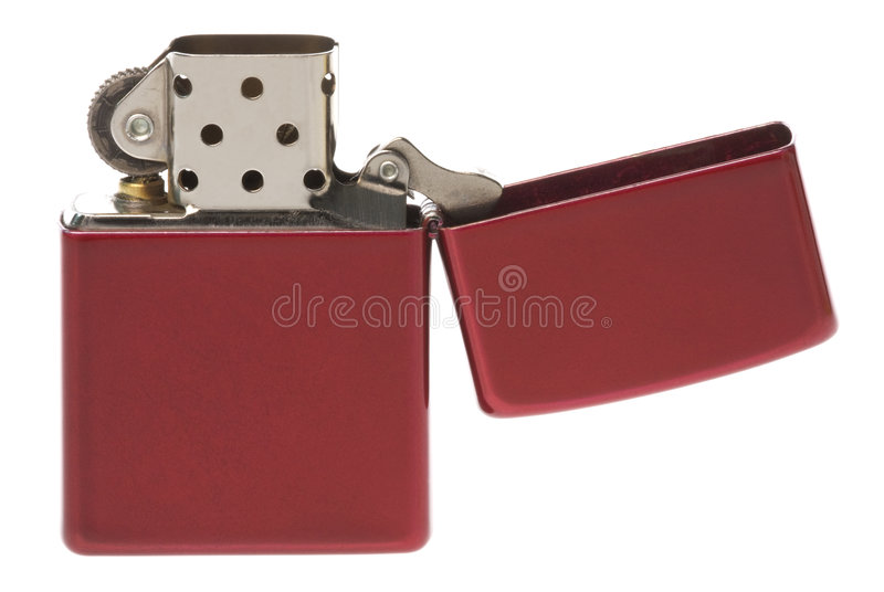 Retro petrol lighter stock photography