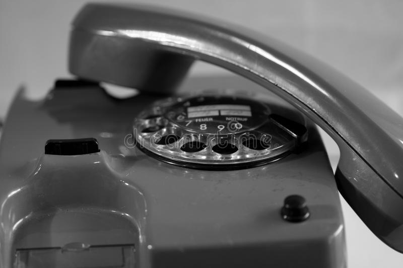 Download Retro phone stock image. Image of detail, white, communication - 34809109
