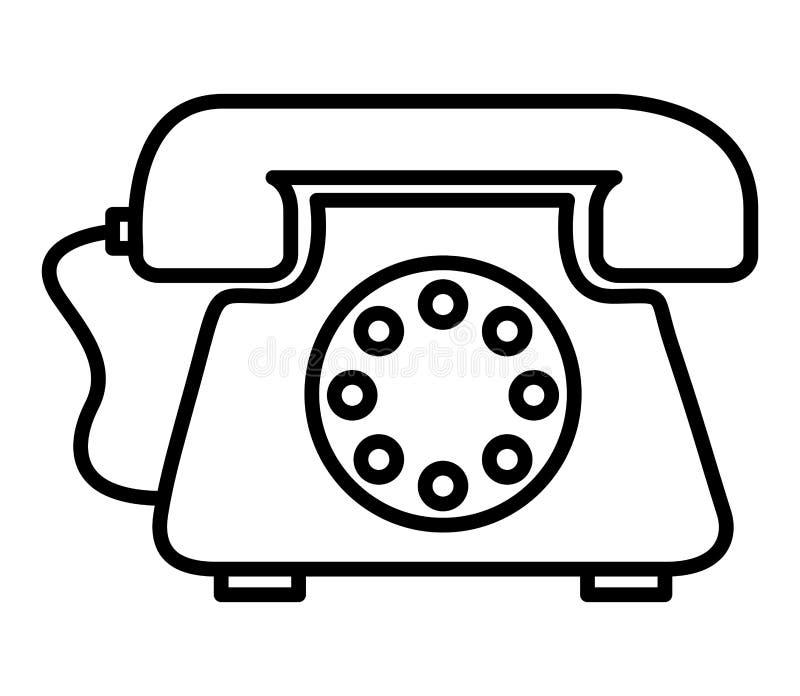 retro phone isolated icon design stock illustration illustration Retro Cordless Telephone retro phone isolated icon design stock illustration illustration of speaker phone 73883586