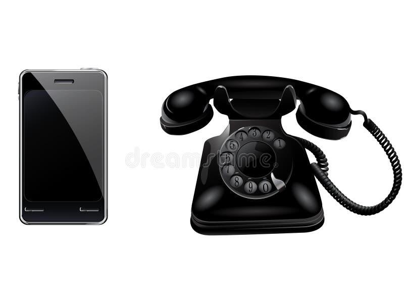 Retro phone and smart phone