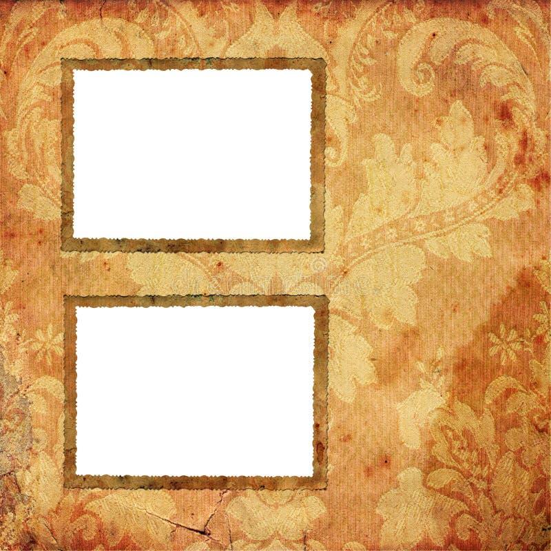 Retro photo frameworks stock illustration