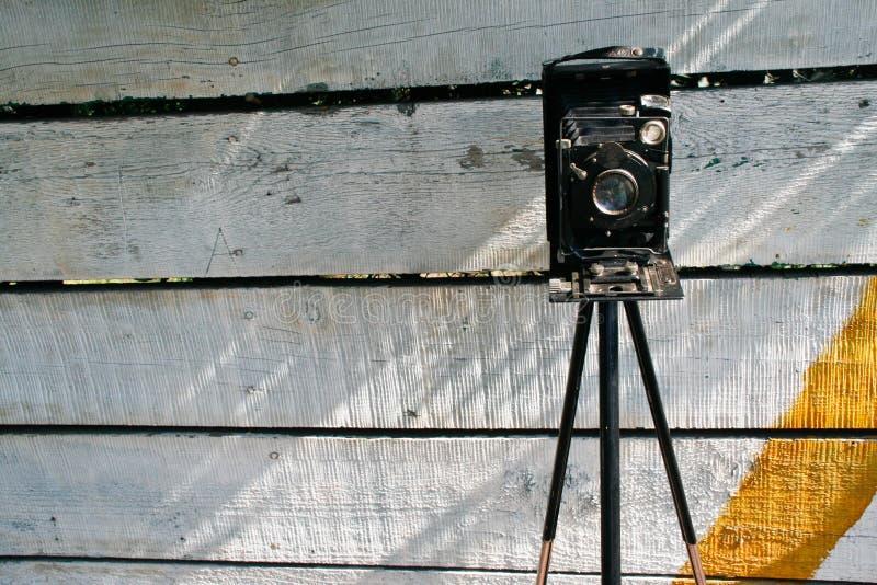 Retro Photocamera fotografie stock