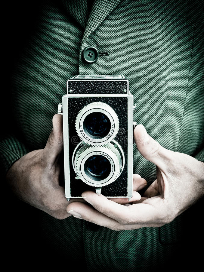 Download Retro photographer stock image. Image of retro, picture - 20888241