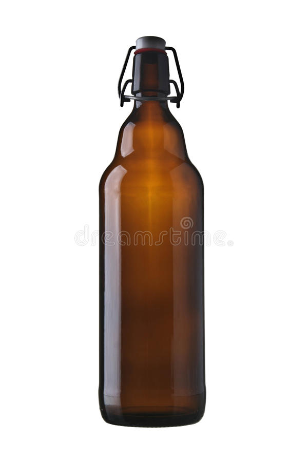 retro piwna butelka zdjęcia royalty free