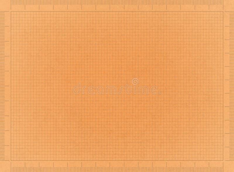 Retro- Planpapier lizenzfreies stockbild