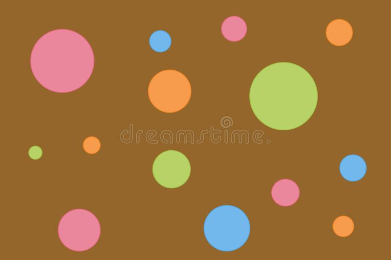 Retro Polka Dots Royalty Free Stock Photography
