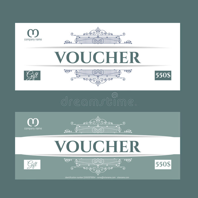 Retro presentkort och ett ställe för text, logo, information om kontakt royaltyfri fotografi