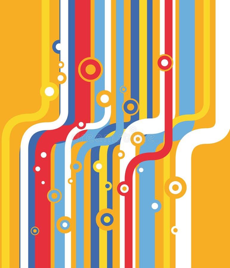 Download Retro Priorità Bassa Colorata Alla Moda Illustrazione Vettoriale - Illustrazione di freddo, singolo: 3881224