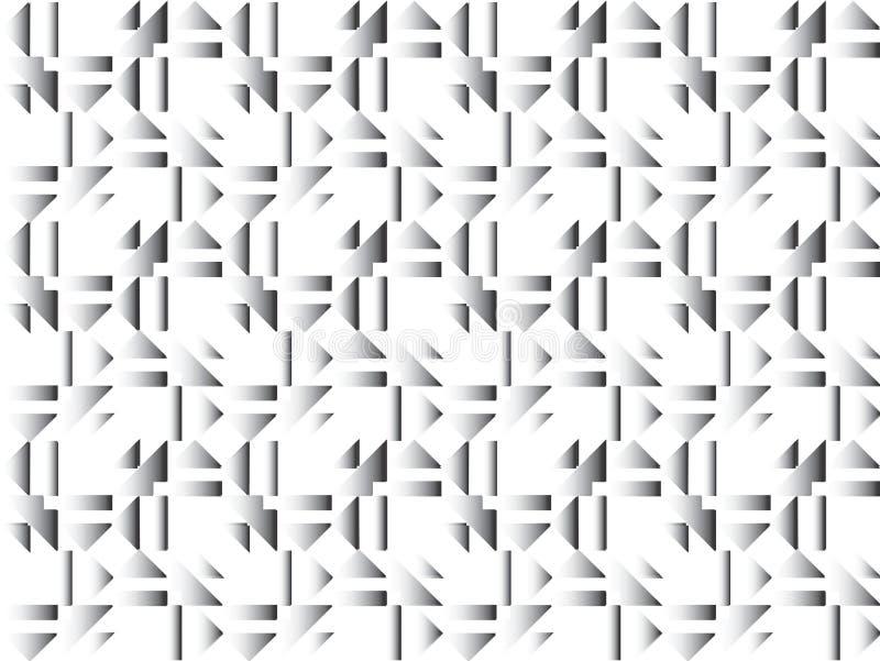 Retro, priorità bassa geometrica illustrazione vettoriale