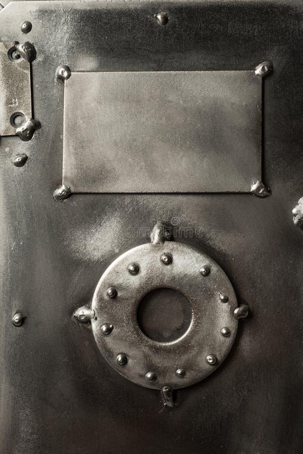 Retro projektujący skrytki pudełka drzwi zdjęcia stock