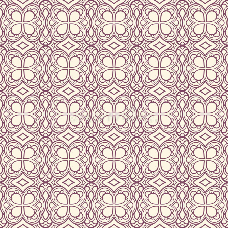 Retro purple and beige background stock illustration