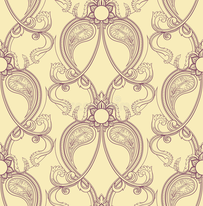 Free Retro Purple Pattern Stock Photography - 33759722