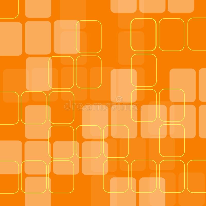Retro- Quadrate stock abbildung