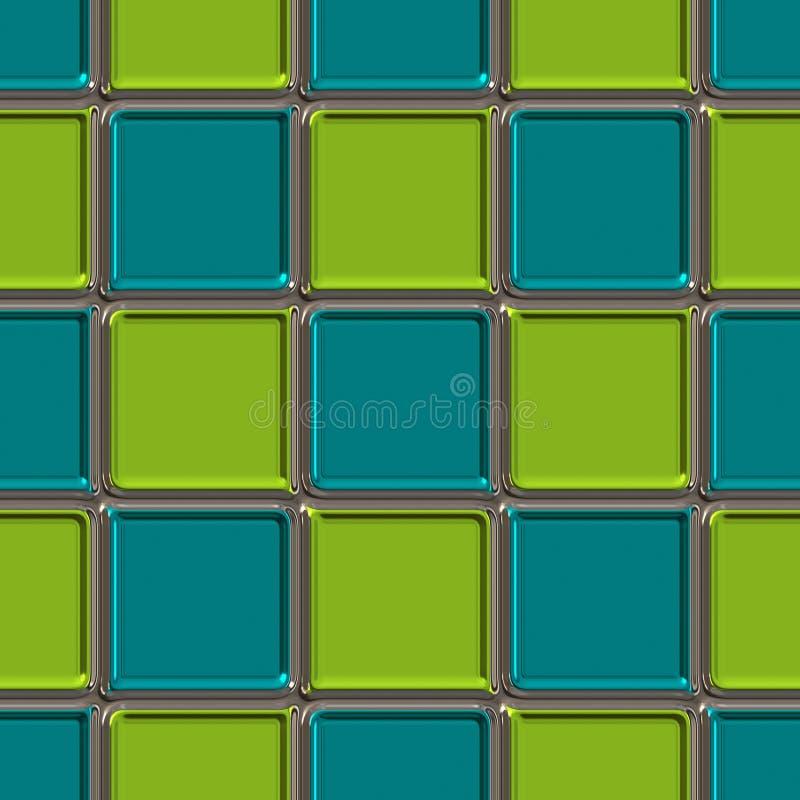 Retro quadrati illustrazione di stock