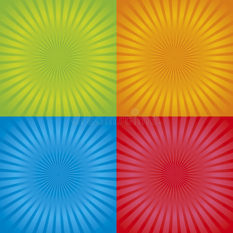 Download Retro Radial Background 01 Royalty Free Stock Photography - Image: 14537197