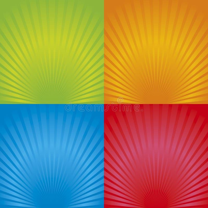 Free Retro Radial Background 02 Stock Image - 14537201