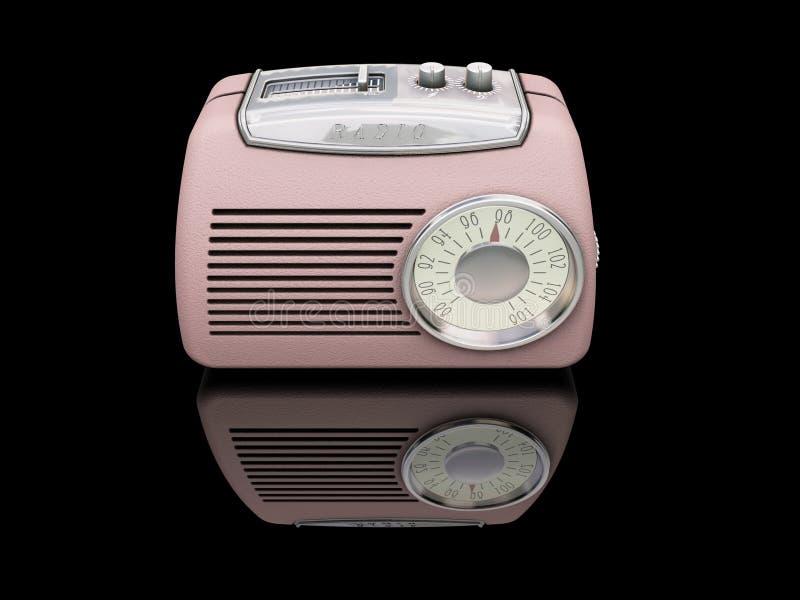 Retro radio vector illustratie