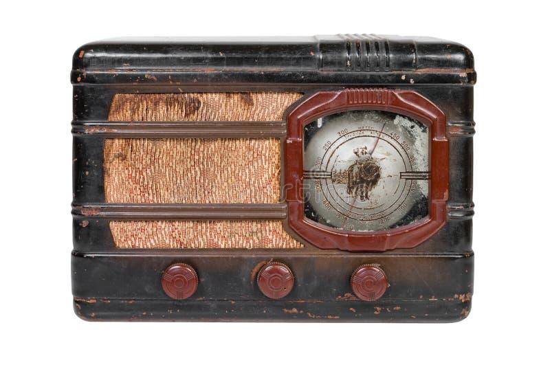 Retro radio stock foto