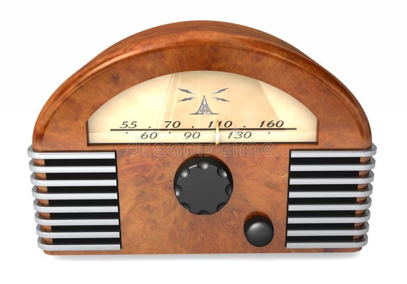Retro radio fotografie stock libere da diritti