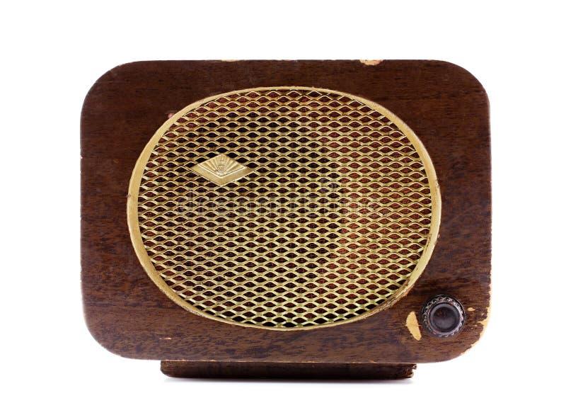 Retro radio stock afbeelding
