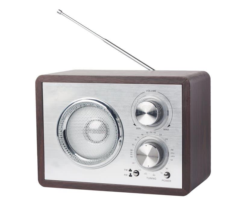 retro radio arkivfoto