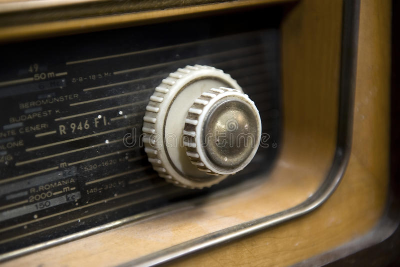 Download Retro Radio stock photo. Image of wooden, retro, broadcast - 22606752
