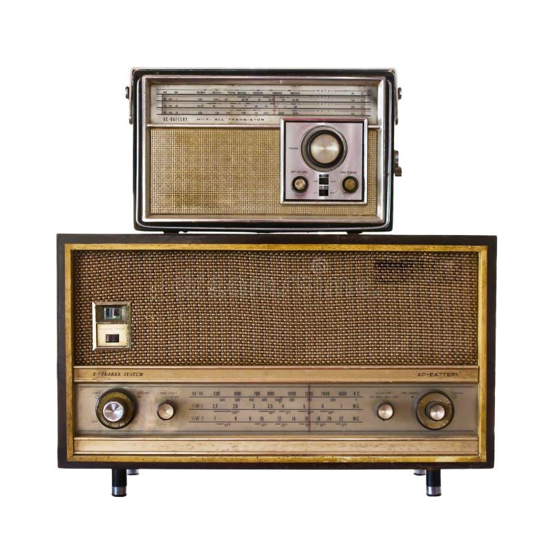 Retro radio fotografia stock