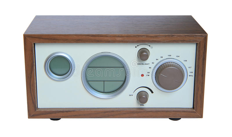 Retro radio obrazy stock
