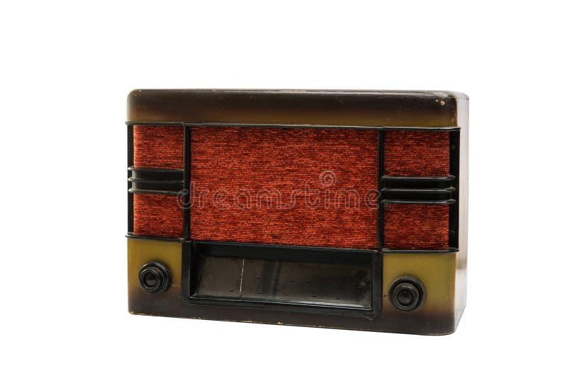 Retro radio isolata illustrazione di stock