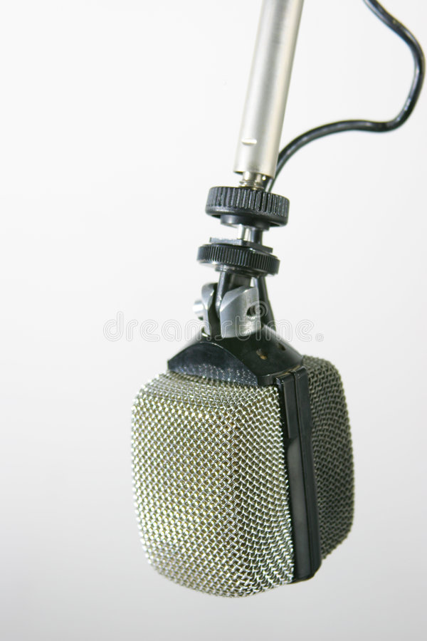 Retro Radio Microphone royalty free stock images