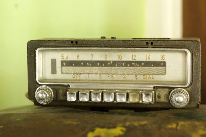 Retro radio oude uitstekende stijl royalty-vrije stock fotografie