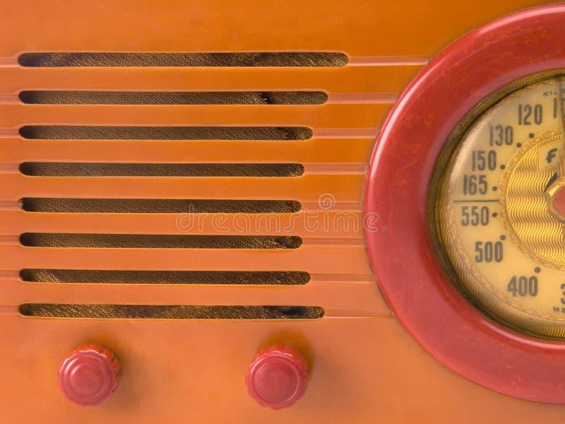 Retro- Radionahaufnahme lizenzfreie stockfotos