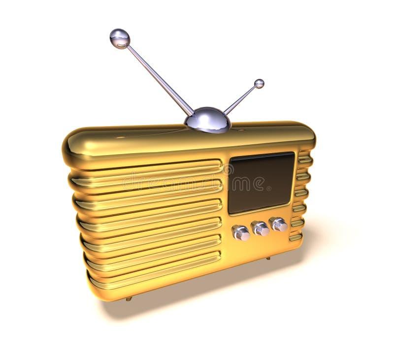 retro radiowego royalty ilustracja