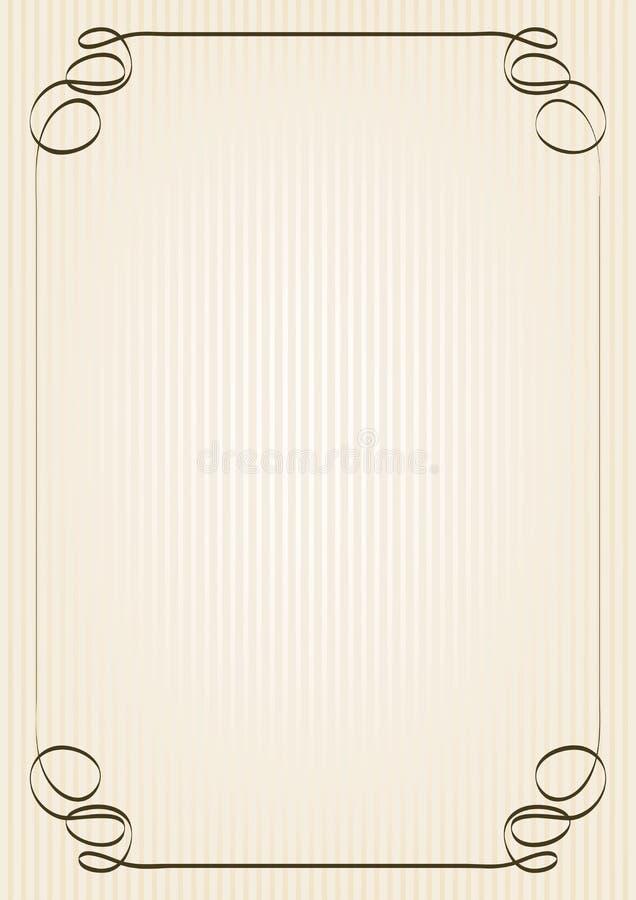 Download Retro rama ilustracja wektor. Ilustracja złożonej z element - 28969168