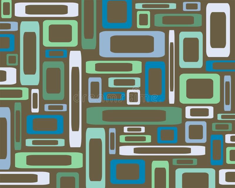 Download Retro Rectangles Background Stock Illustration - Image: 3925045