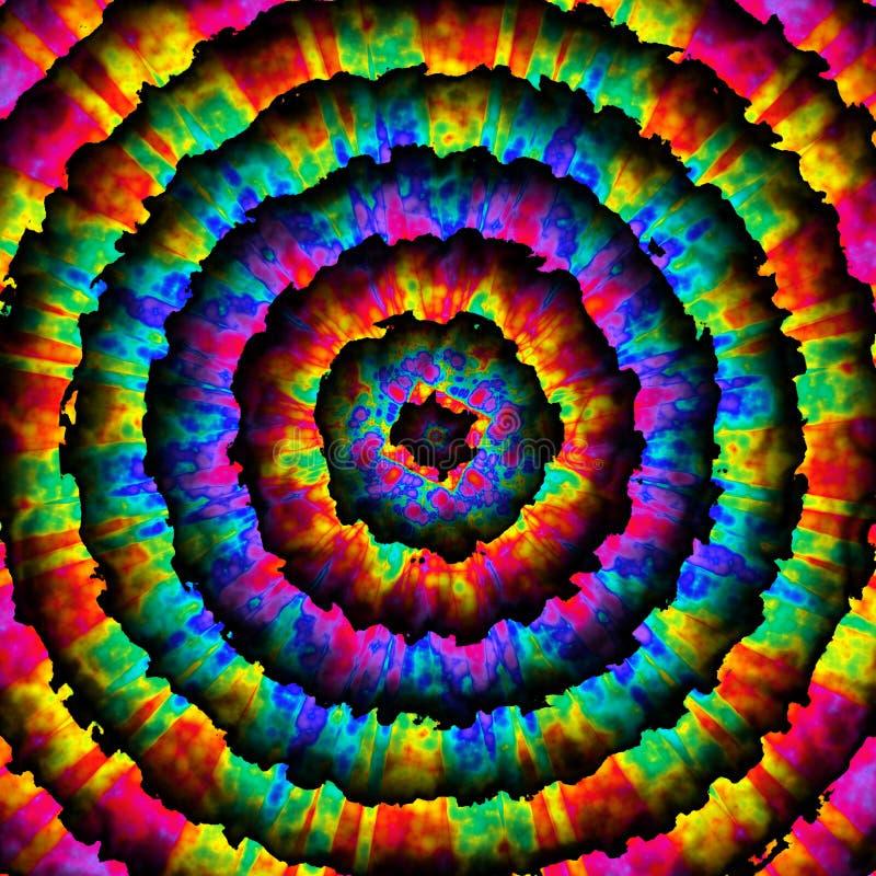 Retro- Regenbogen-Bullauge lizenzfreie abbildung