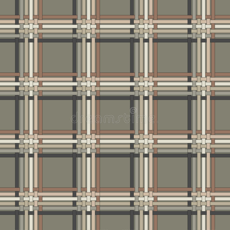 Retro repetitive wallpaper - Vintage vector pattern royalty free illustration