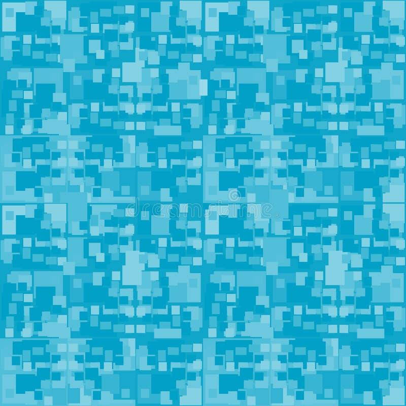 Retro reticolo blu senza giunte royalty illustrazione gratis