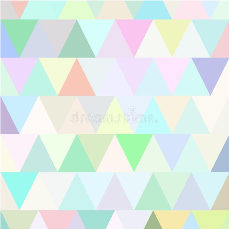 Retro reticolo multicolore illustrazione di stock